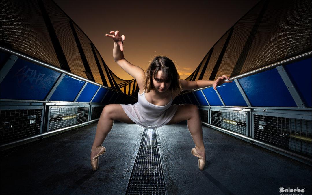 Iliana, danse au dessus de la gare