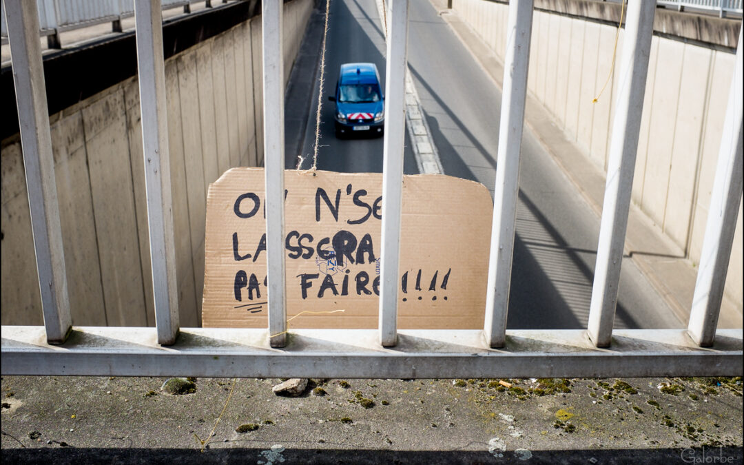 Manif Loi travail à Moulins